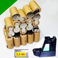 Scambio Pack per ORIGINALE Hilti BATTERIA 36 V bp10 2,5 Ah NiCd 2500 mAh SANYO