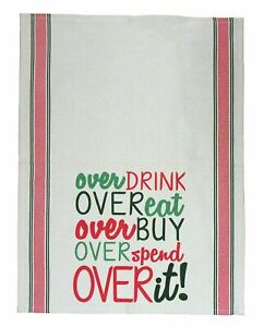 Mud Pie Overdrink Towel