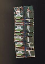 1997 Donruss #441 Jim Thome Barry Larkin Indians Cincinnati Reds Lot of 10