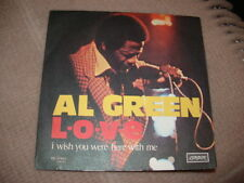 "AL GREEN "" LOVE - I WISH YOU WERE HERE WITH ME ""  ITALY'75"