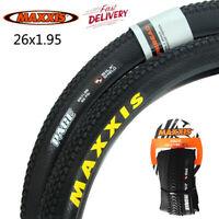"MAXXIS 26"" x1.95 MTB Tyres 60TPI Clincher Tire ISO 559mm Bike Wheel Rim Tires UK"