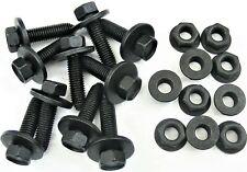 Body Bolts & Flange Nuts- M10-1.50 x 40mm Long- 15mm Hex- 20 pcs (10ea)- LD#412T