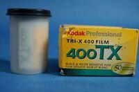 KODAK TRI-X 35mm 400TX B&W Film - Expired 6/2007 2 Rolls 36 Exposures