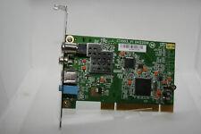 ✔️📺 WORKING - MEDION TV-DVB-T COMBO CARD 20032576 TV TUNER PCI CARD UK SELLER