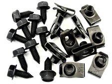 "GM Body Bolts & U-nut Clips- 5/16"" x 13/16"" Long- 1/2"" Hex- 20 pcs- #392"