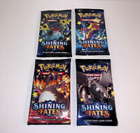 1x - Pokemon Factory Sealed ✨Shining Fates✨ Booster Pack Random Artwork IN HAND!