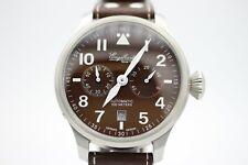 Engelhardt eg-57 2939 automatico reloj hombre fecha marrón