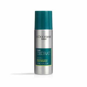 L'Occitane Cap Cedrat Spray Deodorant 130ml Provides All-day Protection & Fresh