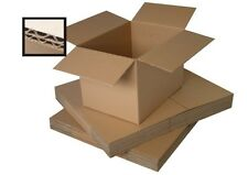 10 SMALL CARDBOARD BOXES/DOUBLE WALL 8 x 8 x 8""