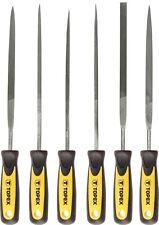 6 tlg Nadelfeilen Set Satz Schlüsselfeile Metallfeile Nadelfeile 150mm