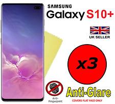 3x HQ MATTE ANTI GLARE SCREEN PROTECTOR COVER FILM GUARD FOR SAMSUNG GALAXY S10+