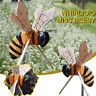 Bee Butterfly Winder Whirligig, Whirlygig, Garden Windmill, Wind Spinner