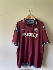 West Ham United Home Football Shirt XXL