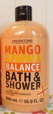CREIGHTONS MANGO & PAPAYA BALANCE BATH & SHOWER BODY WASH 16.9 OZ