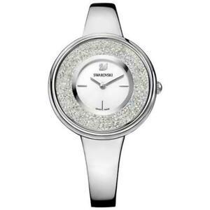 Swarovski Crystalline Pure 5269256 Damen Armbanduhr Edelstahl Neu und Ovp