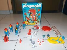 PLAYMOBIL 3491 POMPIERI Box Completo klicky geobra FIREFIGHTERS FEUERWEHR