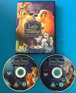 Walt Disney Classic DVD Film - Lady And The Tramp. 2-Disc Special Edition.