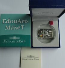 1/4 Euro Edouard Manet 0,25 2008 France Frankreich SILVER PP Proof RARE