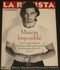 LA REVISTA 1996 Tom Cruise Miguel Delibes Francisco Umbral Guggenheim Bilbao