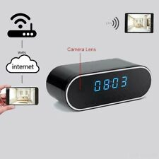 iPhone /Android Wireless COVERT CLOCK VIDEO CAMERA RECORDER FULL HD NIGHT VISION