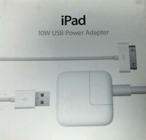 Apple Ipad 10w USB Power Adapter White MC359B/A A1357