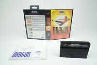 Sega Master System *Dragon: The Bruce Lee Story* OVP Anleitung