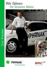 CYCLISME carte team manager URS FREULER équipe PHONAK