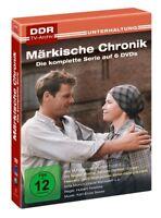 MÄRKISCHE CHRONIK (DDR TV-ARCHIV) KOMPLETTE SERIE  6 DVD NEU