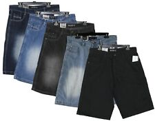 Southpole Men's Denim Jean Shorts Relaxed Fit 5 Colors