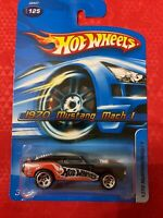HOT WHEELS 2006 1970 MUSTANG MACH 1 #125 BLACK FACTORY SEALED