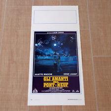 GLI AMANTI DEL PONT-NEUF locandina poster affiche Les Amants du Pont-Neuf O49
