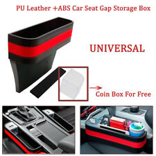 6 Colors PU Leather + ABS Front Seat Pocket Catcher Storage Organizer Catch Box