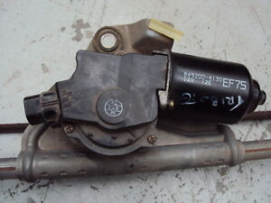 MAZDA TRIBUTE WIPER MOTOR ASSEMBLY, WORKING FROM A NICE CAR