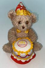 """Build A Bear McDonalds Bear With Birthday Cake 5.5"""""""