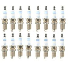 Set of 16 Spark Plugs Bosch 8100 For Acura Chevy Dodge Hyundai Mecedes Nissan VW