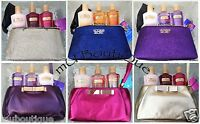 1 VICTORIAS SECRET GLITTER METALLIC GOLD BOW GIFT BAG CLUTCH SET YOU CHOOSE NWT