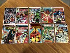 Dazzler #1 to 10 (1981, Marvel) VF