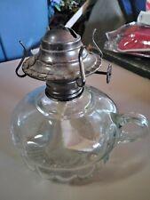 Vintage LampLight Farms Glass Finger Grip Oil Lamp