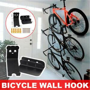 Bicycle Rack Wall Metal Hook Bicycle Mountain Bike Wall Bracket Road Vehicle JN