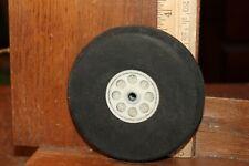 "RC Model Airplane Foam Rubber Wheel Approx 3-5/8"" x 7/8"""