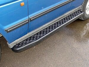 Discovery I Range Rover Classic Running Boards Rubberized OE Spec Brand New