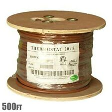 500ft 205 Unshielded Cmr Heating Air Conditioning Hvac Ac Thermostat Cable Wire