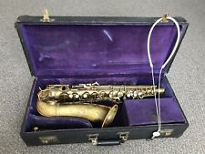 CONN 6M 1933  Naked Lady Alto Saxophone (259312A) Rolled Tone Holes