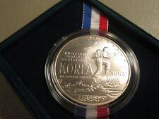 1991 KOREAN WAR MEMORIAL US SILVER COMMEMORATIVE UNCIRCULATED  $1   K5