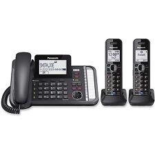 Panasonic KX-TG9582B 2 Handset Corded / Cordless 2 Line DECT 6.0 Phone