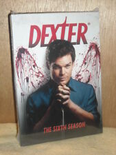 Dexter: The Sixth Season (DVD, 2012, 4-Disc Set) Michael C. Hall