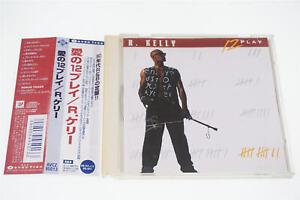 R.KELLY 12 PLAY AVCZ-95013 CD JAPAN OBI A13622
