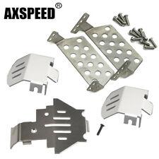 Axspeed 4 St/ücke Metall Anti-Skid Schneeketten Reifen Ketten F/ür 1//10 Traxxas TRX-4 trx4 Crawler