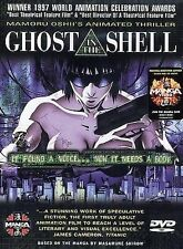 GHOST IN THE SHELL (DVD, 1998, Original Japanese Dubbed/Subtitled English) NEW