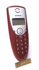 Siemens Gigaset c34 Combiné Rouge Pour cx340 cx345 c340 C 345+ Nouvelles batteries comme neuf